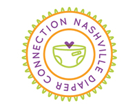 Nashville Diaper Connection Logo Concept