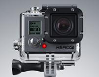 GO PRO HERO 3 BLACK