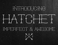 Hatchet - Font