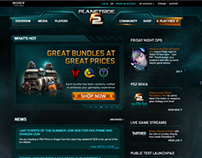 Planetside 2: Launch banner ads