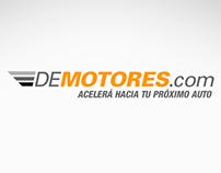 DeMotores - Portada y contratapa