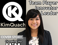 Kim Quach Resume and Logo