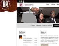 805 Restaurant website
