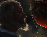Speed Paintings II - Video Process