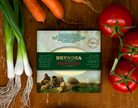 Bryndza packaging
