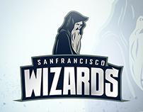 San Francisco Wizards - Logo Design for sports team