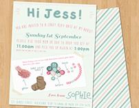 Craft Birthday Invitation