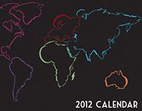 Typographical Calendar: Journey Around the World