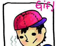 Ness GIF