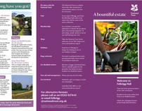 Visitor welcome leaflet