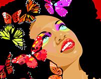 Design for Haiti Poster Illustration
