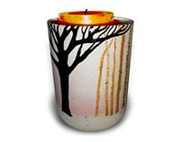 Birch Trees Vase