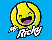 Mr Ricky Tennis Academy Logo