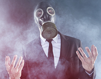 The Gas mask gentleman