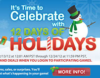 Cross Platform Promo: SOE 12 Days of Christmas