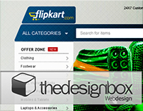 Flipkart.com (Conceptual WebSite Design)