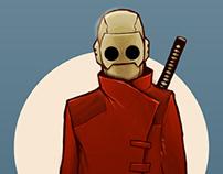Character Nº 1 - Samurai Project