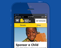 Baptist World Aid mobile site