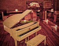 Manhattan Inn Piano Bar & Restaurant branding