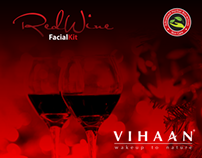 Vihaan RedWine Facial Kit