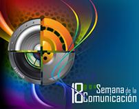 Afiche Semana de la Comunicación