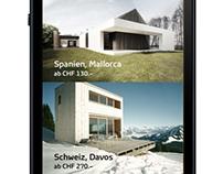 Redesign Casamundo Mobile