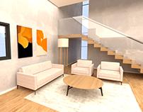 Biblioteca (interior) - Atelier de Projeto III