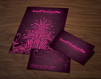 Lash Religion, Branding, Flyers, Business Cards