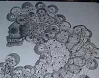 Skull & Lines