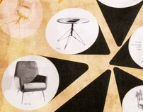 12 digiprints of great design chairs