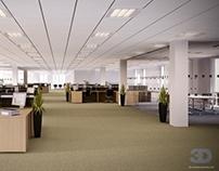 3D Visualisation Ltd. Office Refurbishment, Leeds. UK.