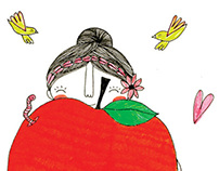 Illustrations for magazine LiceUlice