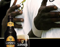 GUINNESS BLACK STARS PRESS ADS