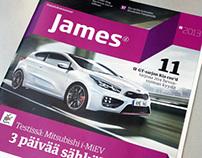 James 1/2013 Magazine layout