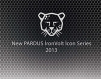 New PARDUS İronVolt Icon Set Series 2013