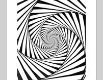 Geometrik (1/02) 13x19 Inch Abstract Print