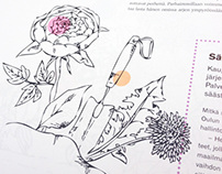 Illustrations for Pyörre Magazine
