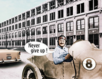 """""""Louis Chevrolet"""", for Sparse Magazine"""