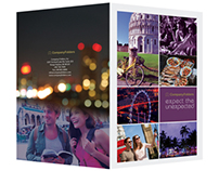 [Free Template] Travel Presentation Folder Design - PSD