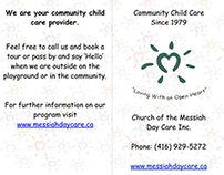 Messiah Day Care Brochure