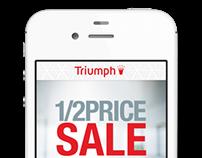 Triumph - mobile app