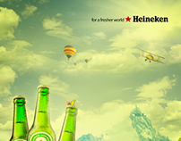 Heineken a fresher world