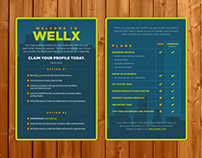 Claim Your Business Postcards - Wellx