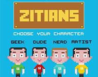 Zitians in 8 Bits