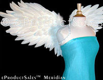 eProductSales Meridian Feather Angel Wings for Costumes