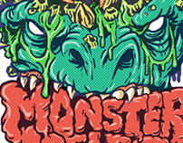 Mega Monster Melee Stickers