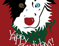 © SLM PS Print Holiday Card Contest Animal/Pet Category