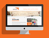 Team World Vision Microsite - Realbuzz
