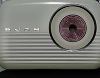 Bush Radio and icon set