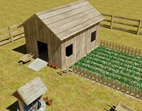 Farm Project in 3ds max